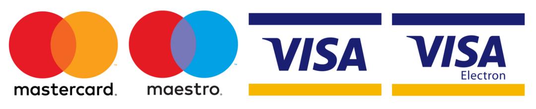 Elfogadható bankkártyák